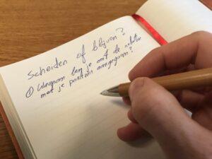 Scheiden of blijven - Mediation - Soest, Utrecht en Nieuwegein