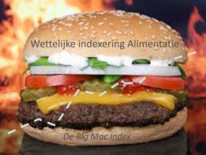 Wettelijke indexering alimentatie