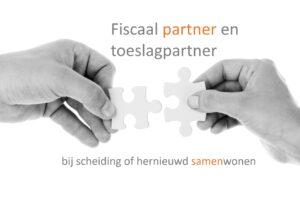 Fiscaal partner en toeslagpartner bij scheiding - Mediation Soest, Amersfoort en Utrecht